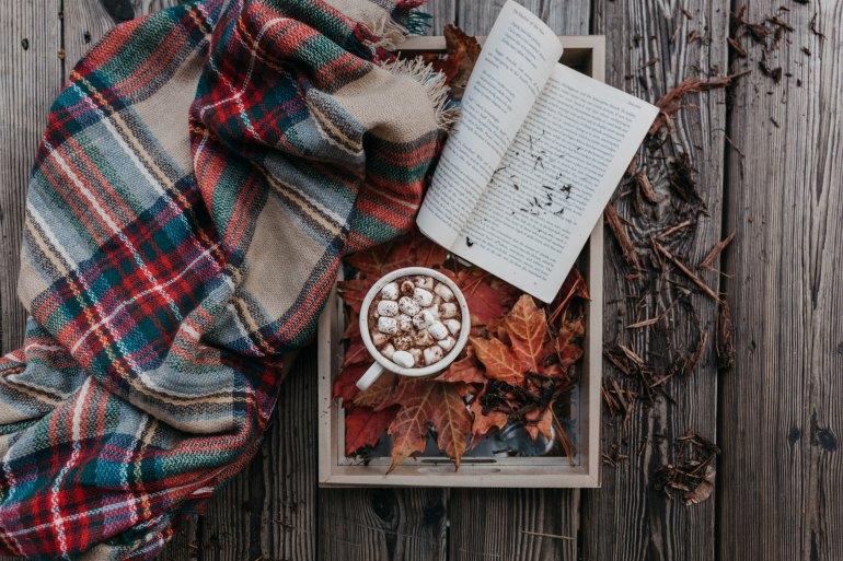 autumnscenewithbook